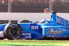 Giancarlo Fisichella - Benetton / Action in Friday Practice