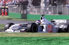 Jacques Villeneuve - BAR / Action in Friday Practice