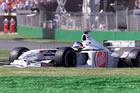 Jacques Villeneuve - BAR / Action in Friday Practice