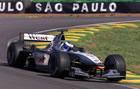 Mika H�kkinen(McLaren) / Action in Saturday Free Practice