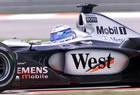 Mika H�kkinen (McLaren) / Action in Friday Practice