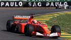 Michael Schumacher(Ferrari) / Action in Saturday Free Practice