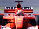 Michael Schumacher (Ferrari) / Action in Sunday race