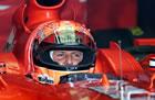 Michael Schumacher(Ferrari) / Sittign in car during qualifying