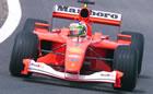 Rubens Barrichello(Ferrari) / Action in Friday Free Practice
