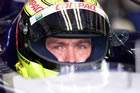 Ralf Schumacher (Williams) / Close-Up while sitting in car